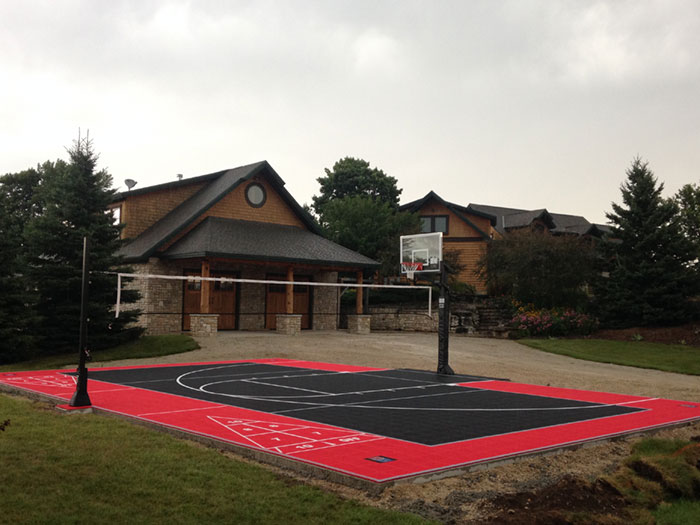 Backyard Multi- Sport Court
