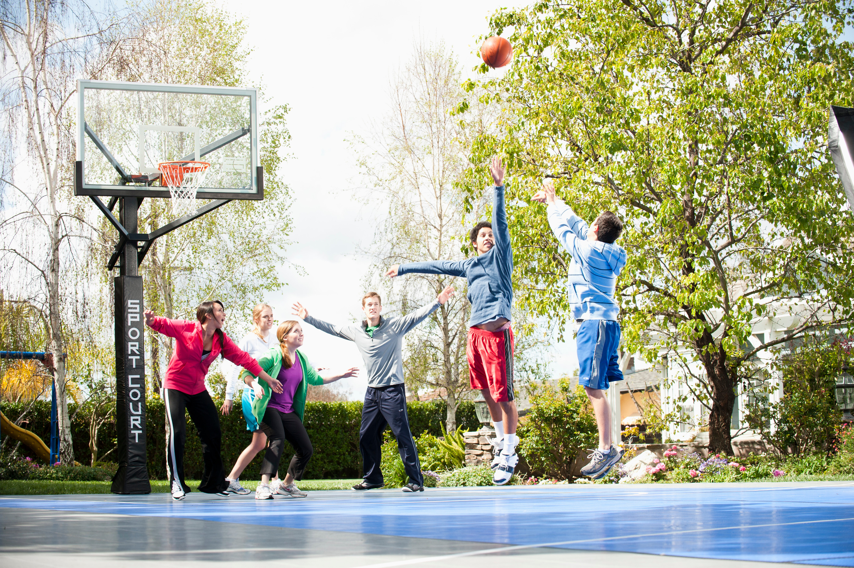 getting a building permit for your sport court game court sport