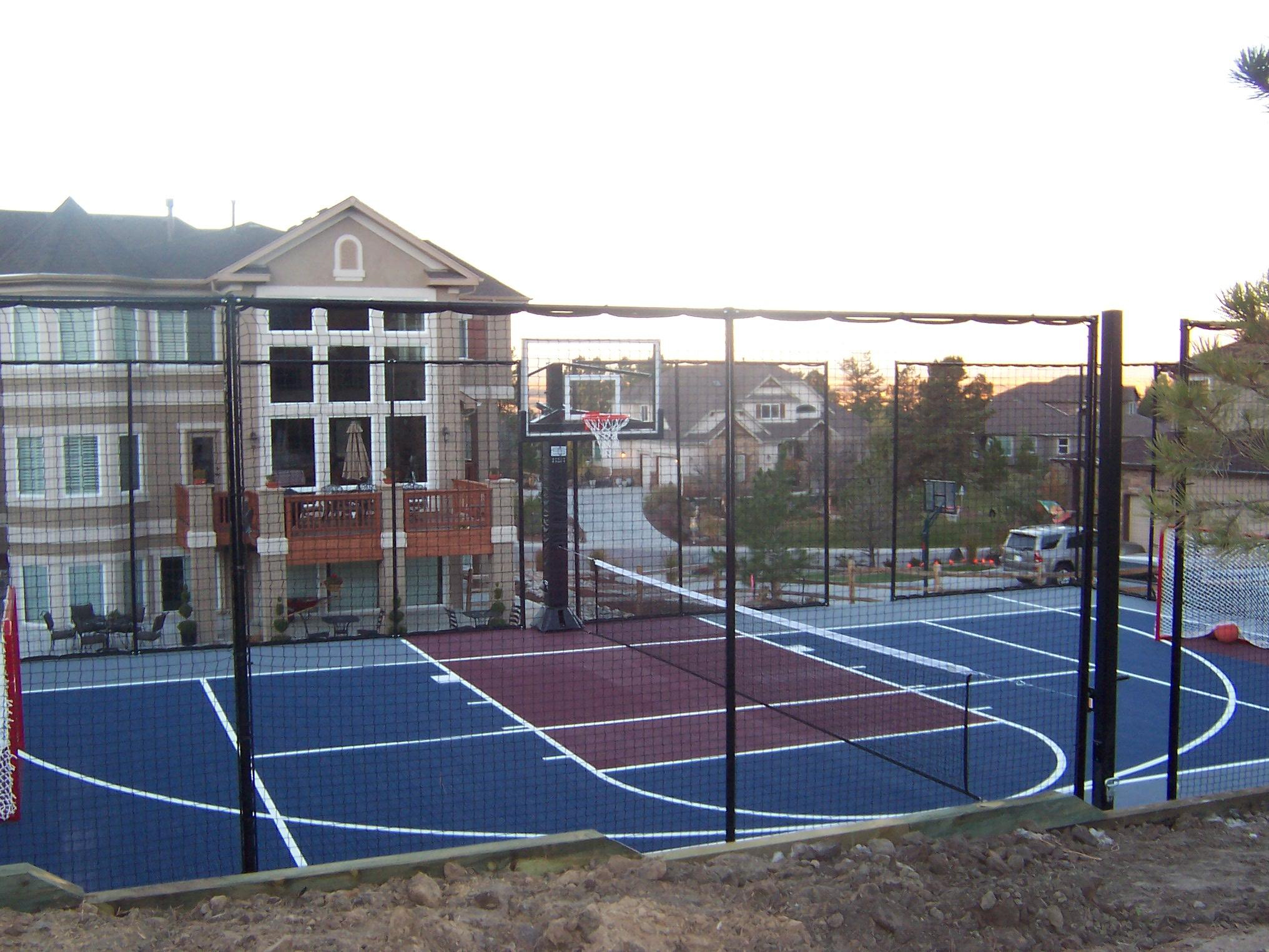 Every Home Is A Perfect Fit For A Sport Court Basketball