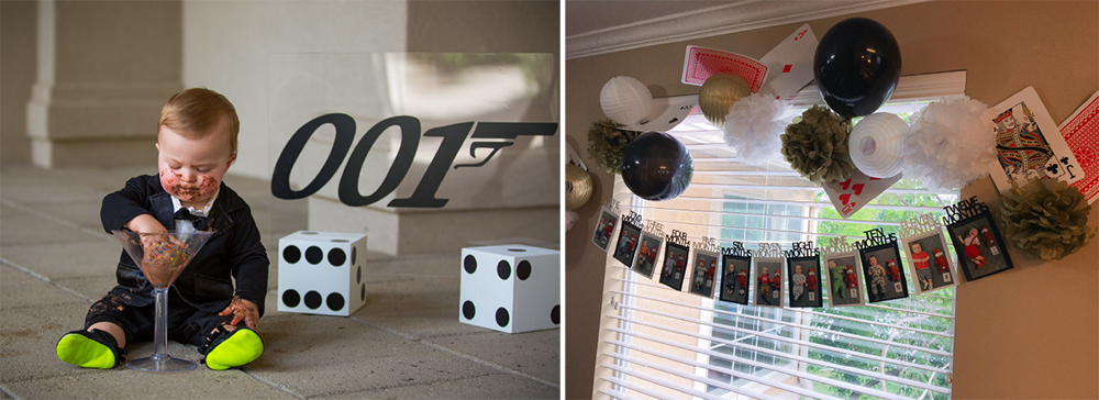 001 Bond Party Theme