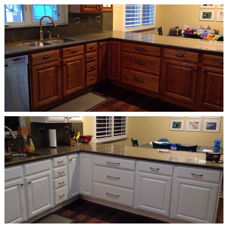 Before & After Interior Paint