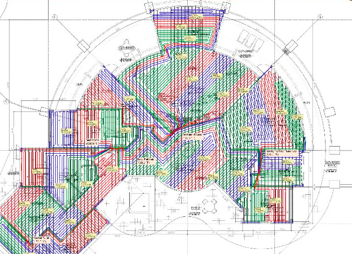 Radiance And Engineering Services : Design engineering radiant plans