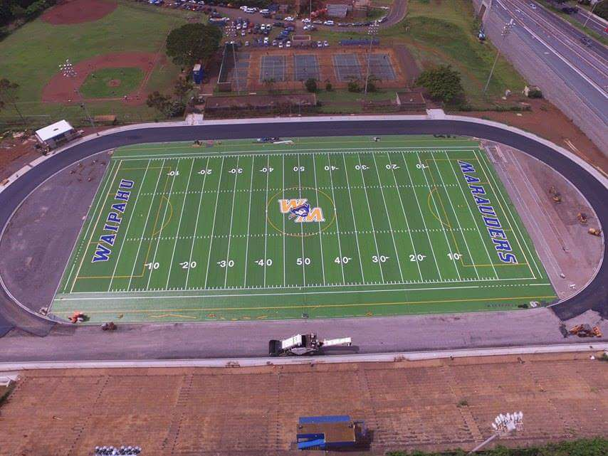 Waipahu High School - Synthetic Turf