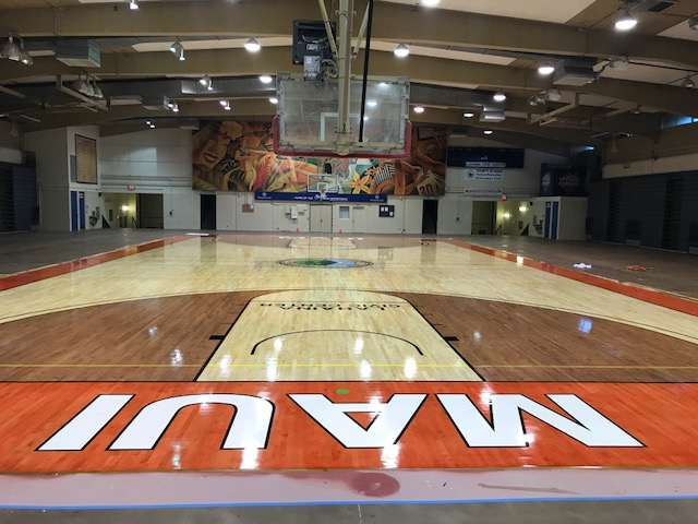 Lahaina Civic Center - Gym Floor