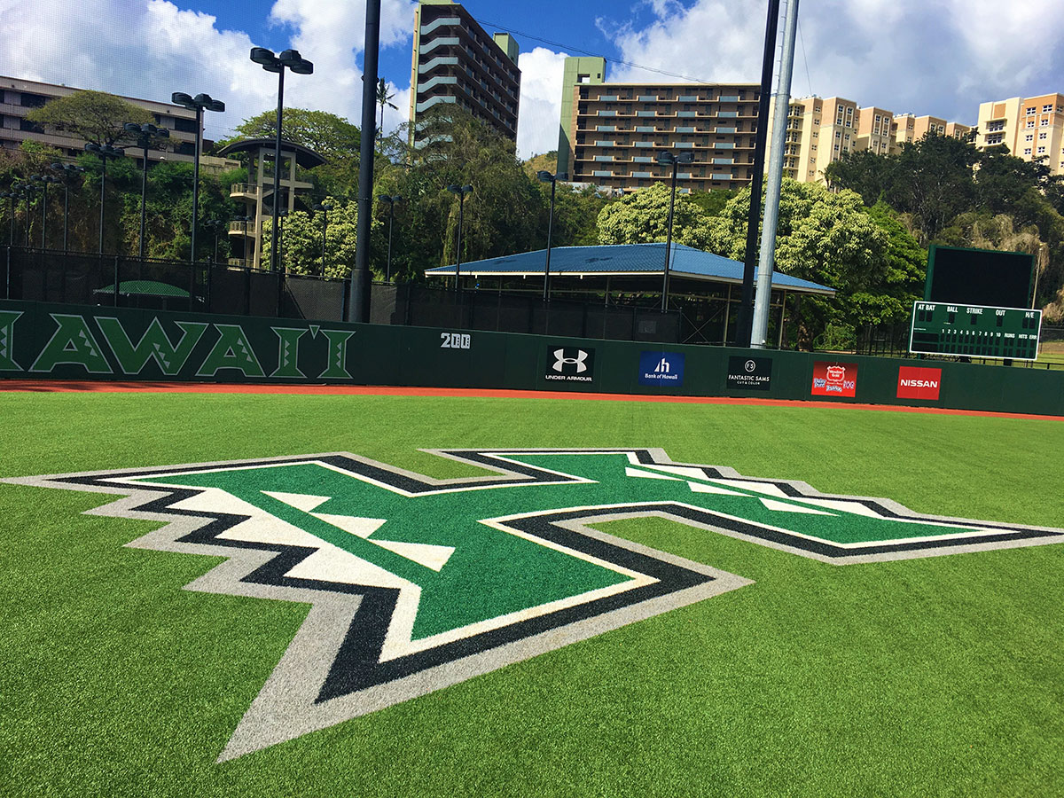 Newly Renovated Rainbow Wahine Softball Stadium