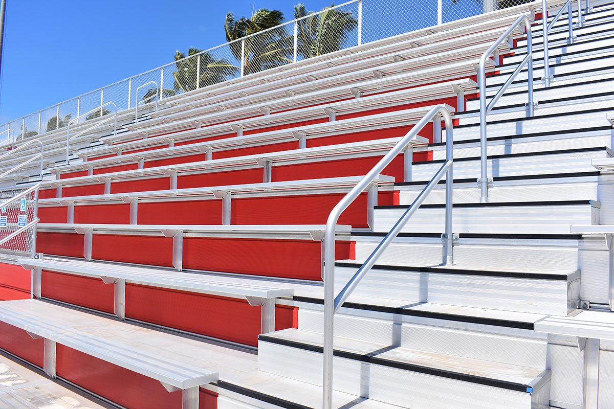 Kahuku High & Intermediate School Replace Bleachers