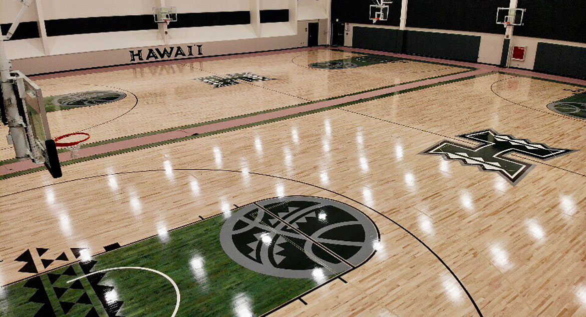Gymnasium Flooring in Hawaii