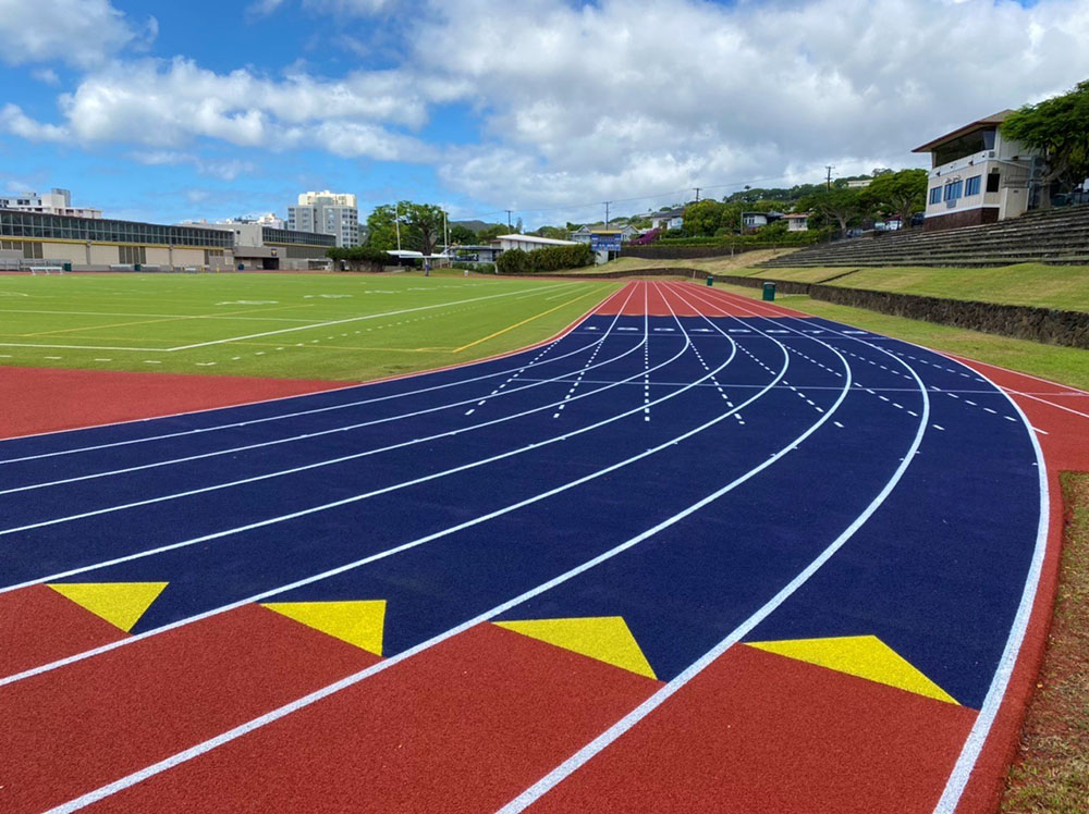 Punahou School Synthetic Track Replacement