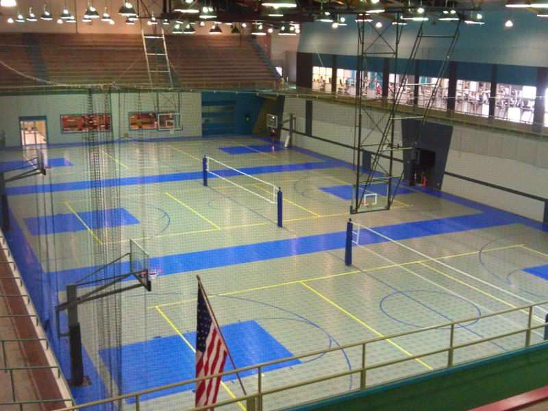 Build a backyard game court sport court of massachusetts for How to build a sport court