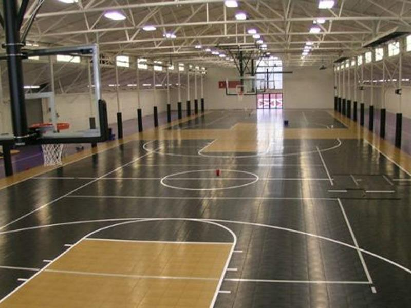 Build a backyard game court sport court of massachusetts for Build a basketball court