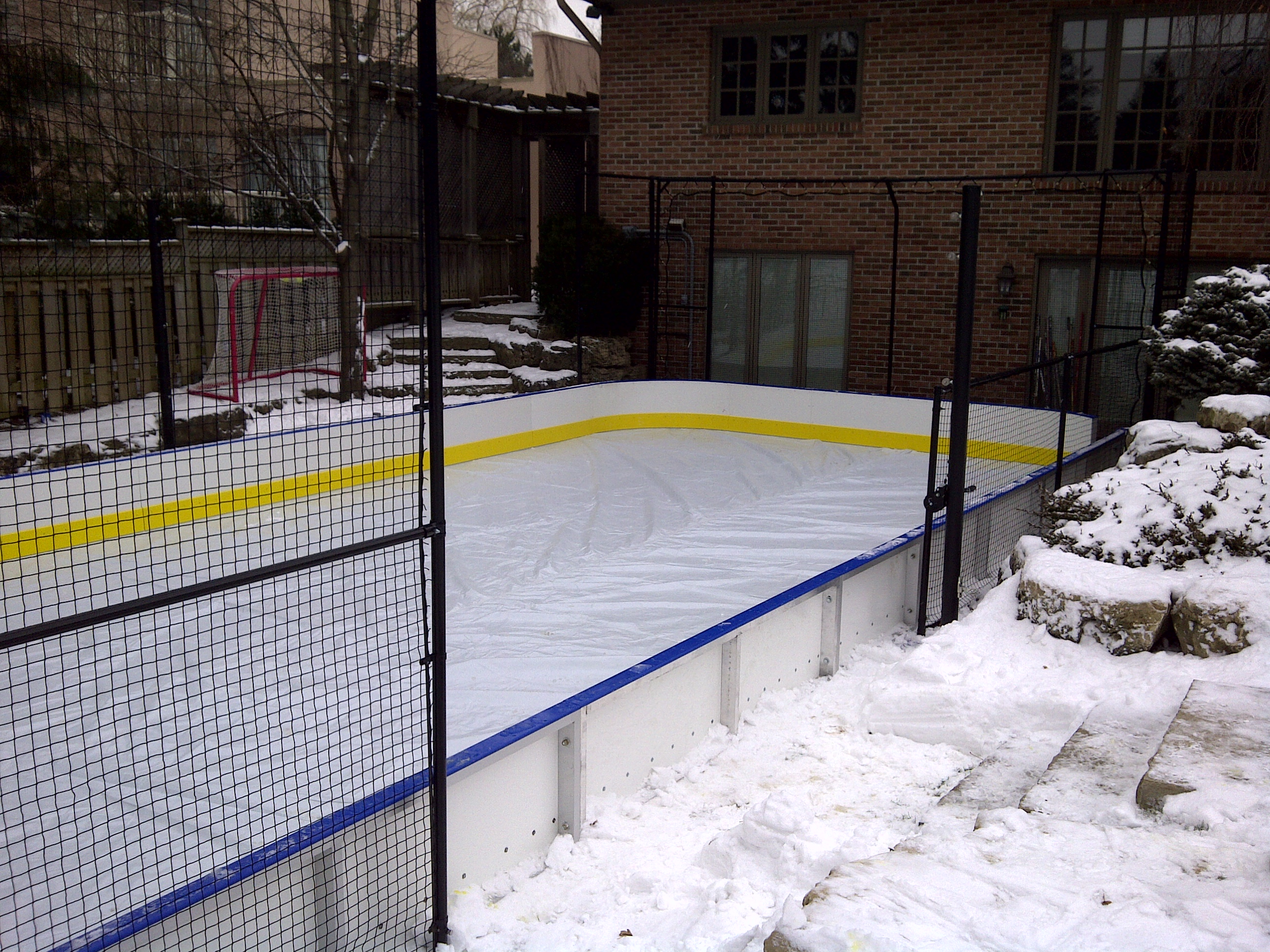 give your family the ultimate holiday gift a backyard court or