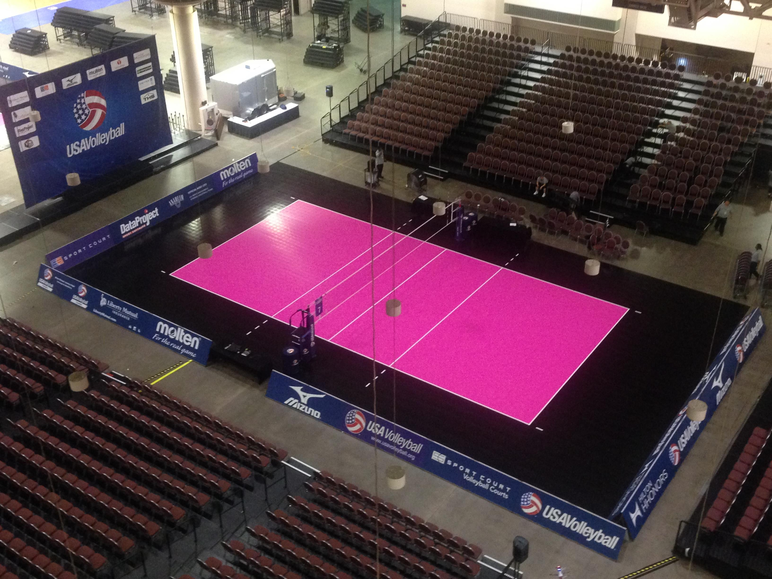 Sport Court® Makes History with USA Volleyball