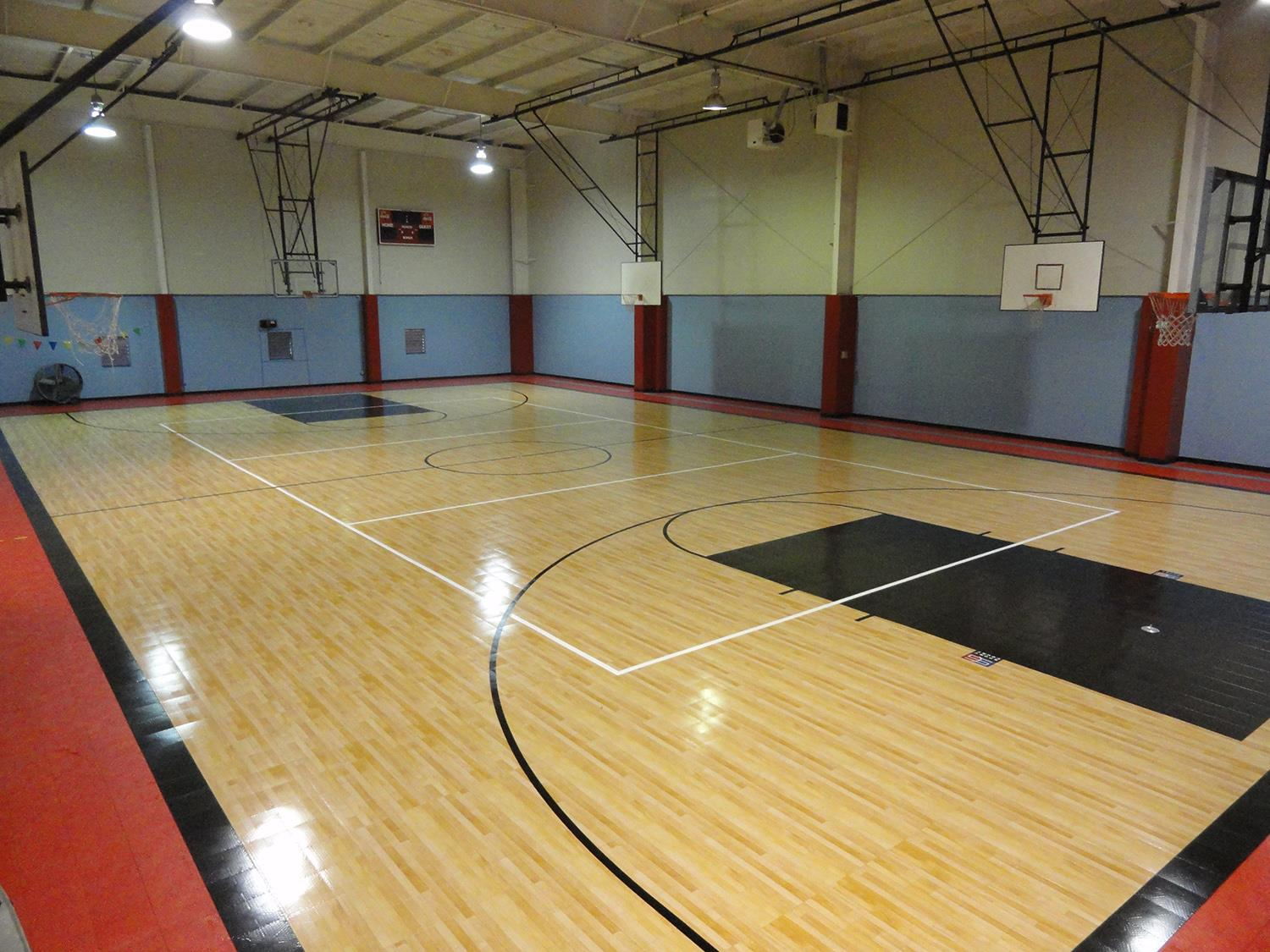 Texas Highschool Upgrades Sport Court Gym Flooring to MapleSelect™