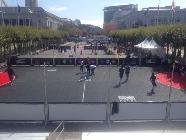 Sport Court Street Soccer Courts for Street Soccer Tournament