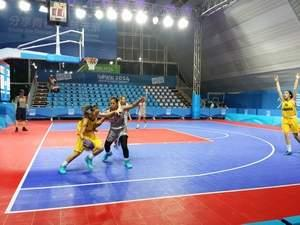 3x3 Basketball at the Youth Olympic Games on the #OfficialCourt