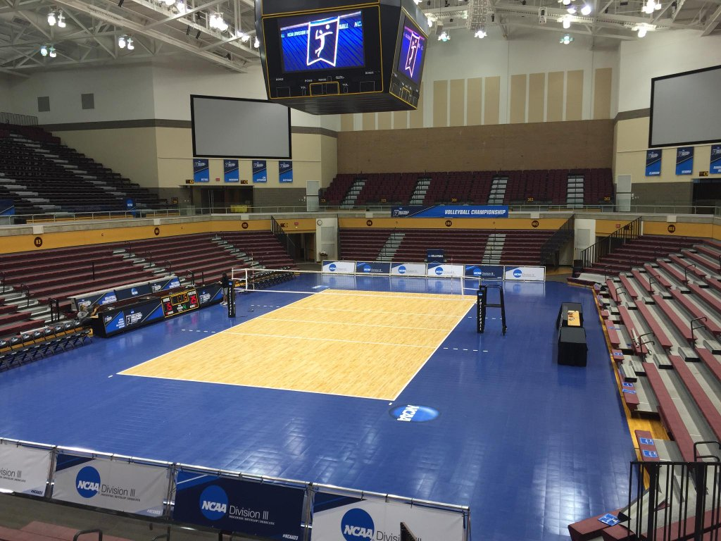NCAA Sport Court Volleyball Court