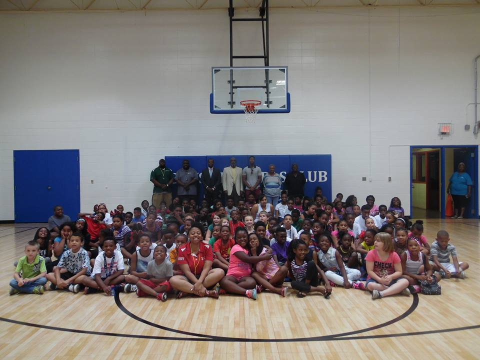Boys and Girls Club new Sport Court Basketball Court