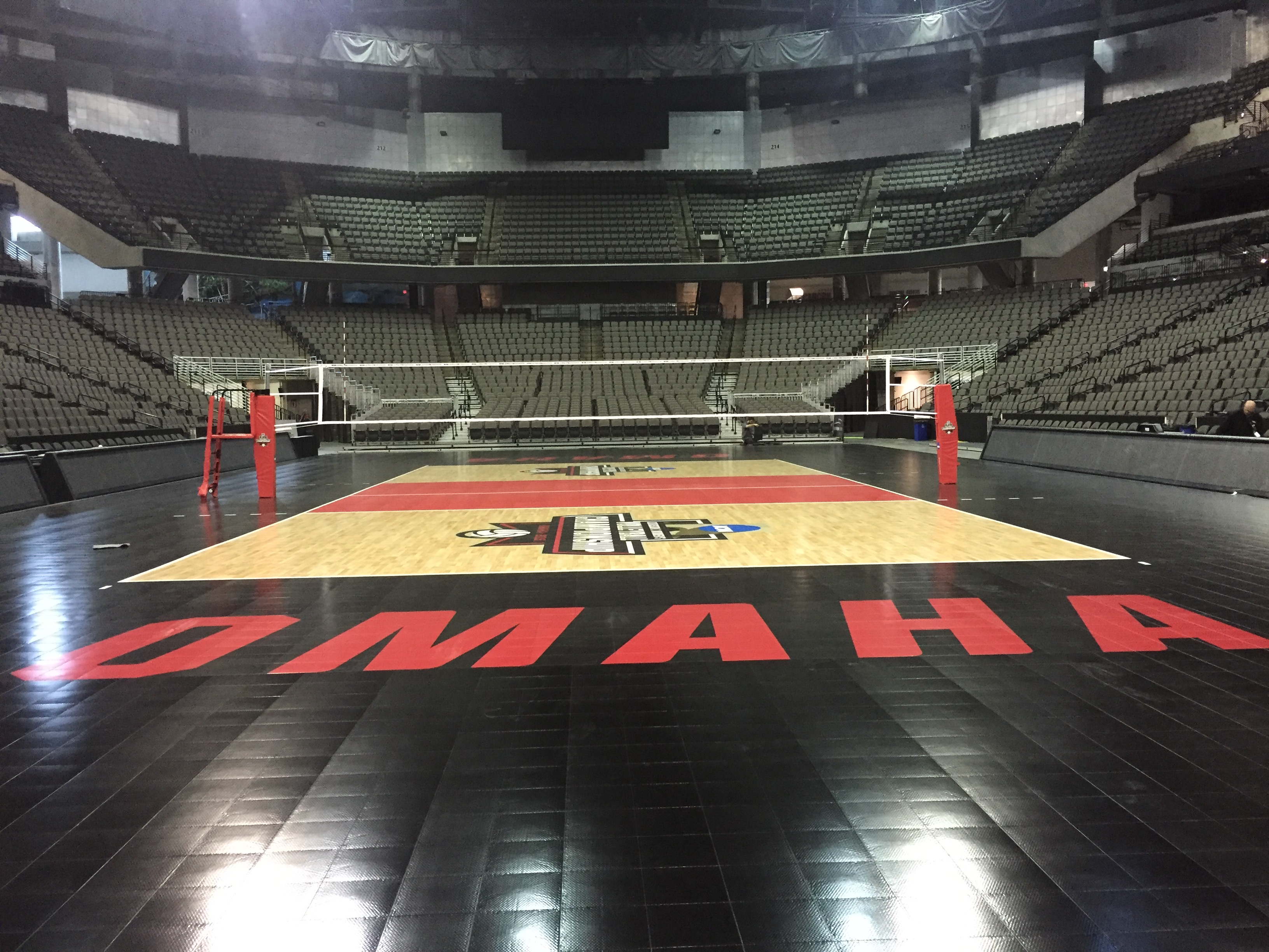 NCAA DI Volleyball Championship Sport Court