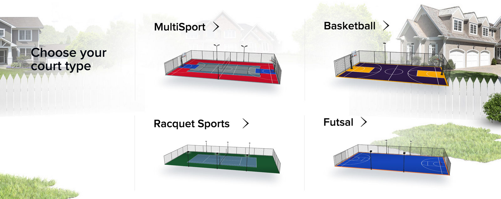 Multi sport sport court for How to build a sport court