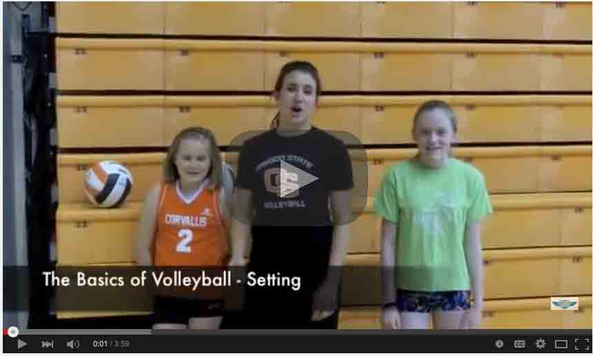Volleyball Setting Tutorial
