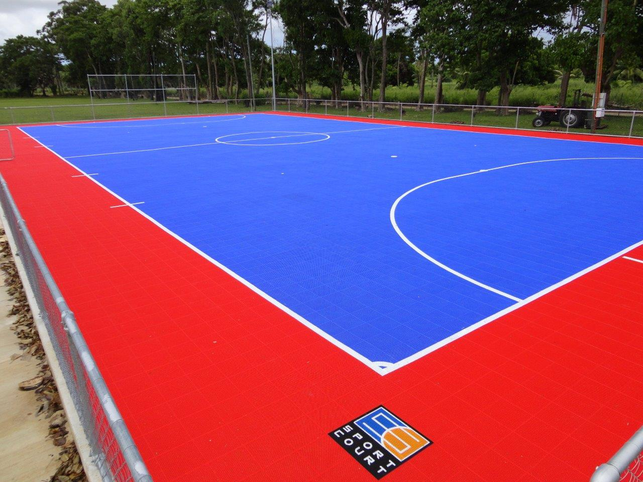 amazing sportcourt #7: New Sport Court® Power Game™ Installed at the Tonga Football Association | Sport  Court