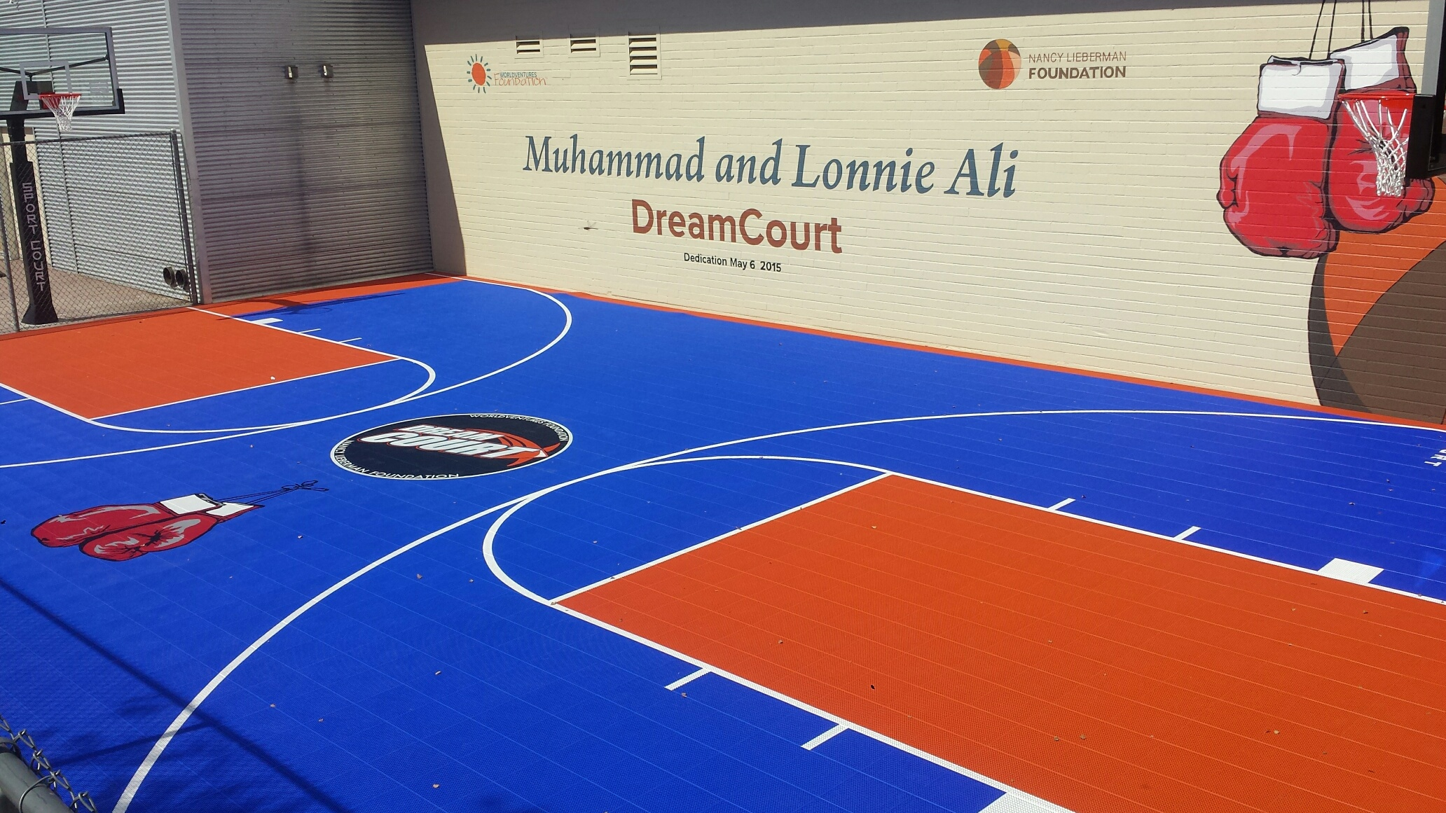 DreamCourt Installation at Boys and Girls Club