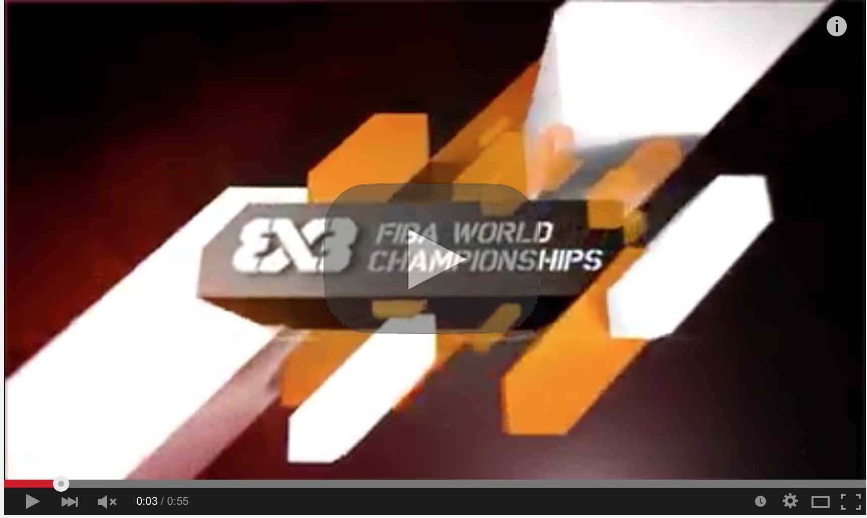 2015 FIBA 3x3 World Tour Dates
