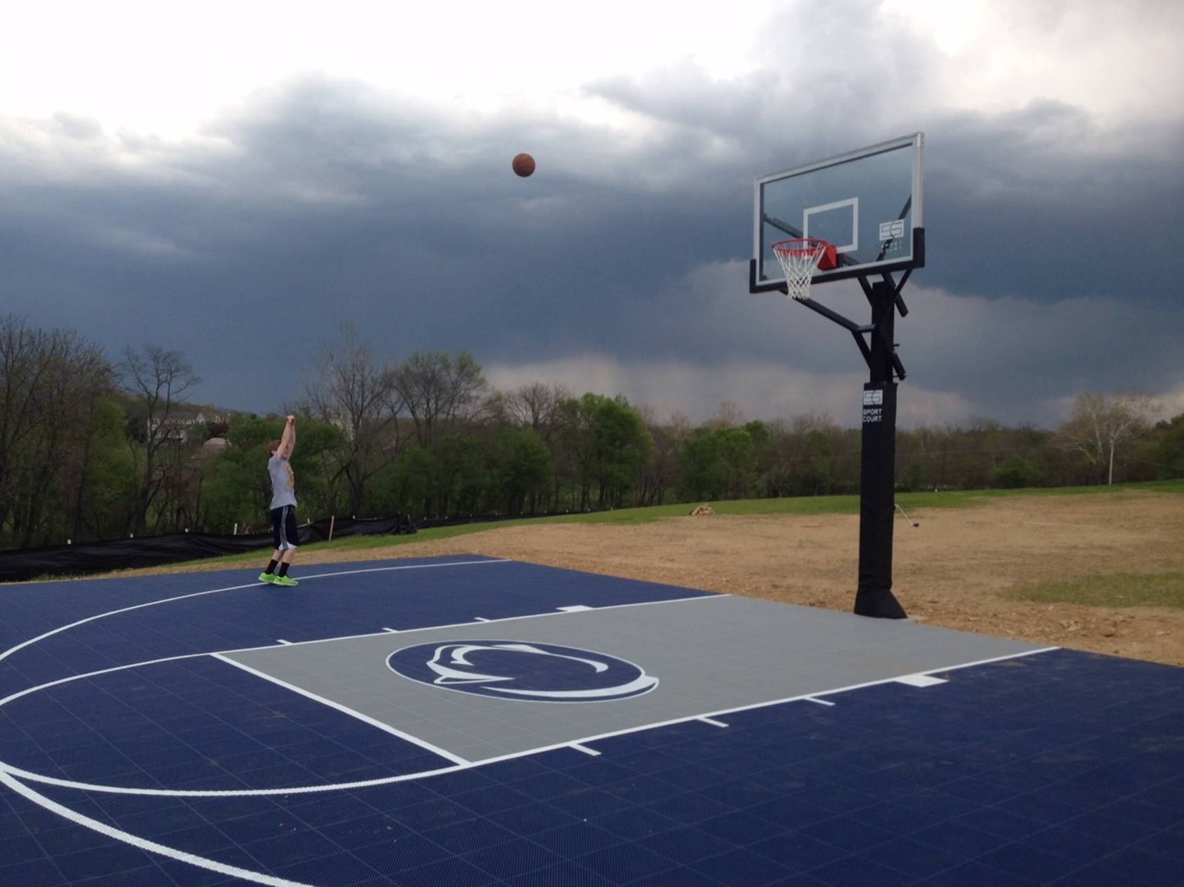 Penn State Backyard Court