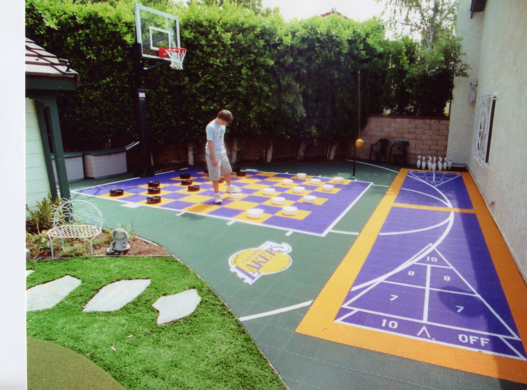 10 Summer Backyard Court Activities From Sport Court