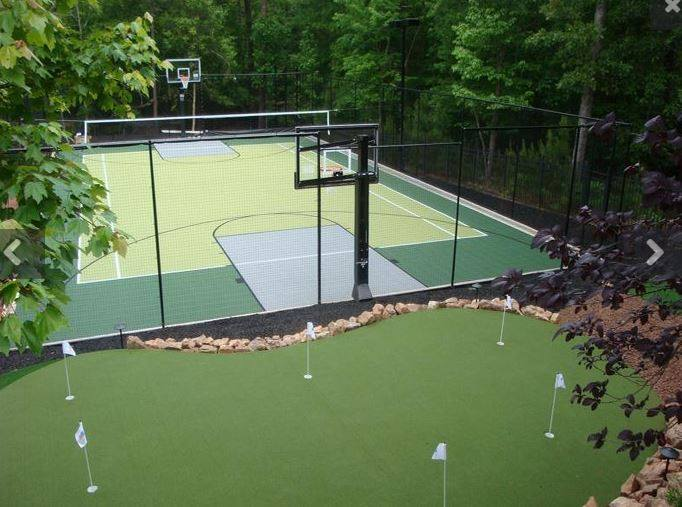 Sport Court Putting Green