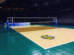 #OfficialCourt of NCAA Volleyball and the 2014 NCAA Volleyball Championships