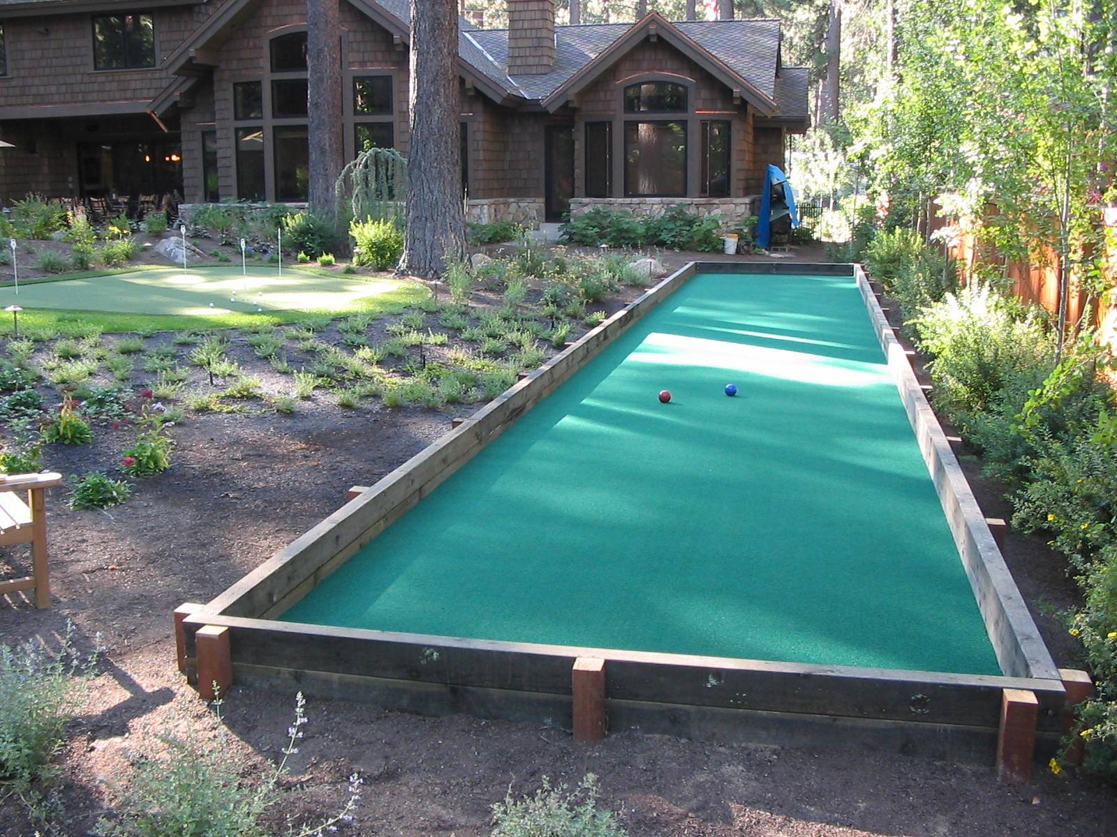 Sport Court Bocce Ball Court