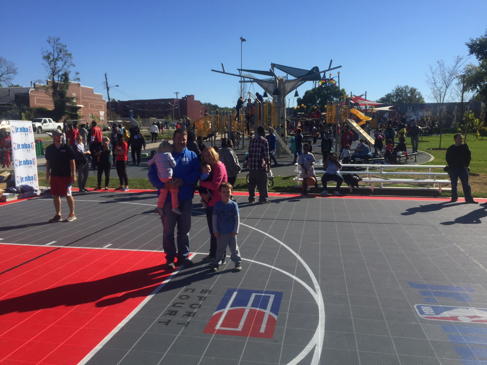 Courts 4 Communities: Sport Court, Sport Court St. Louis and NRPA Provide Wellston Community with a Safe Place to Play