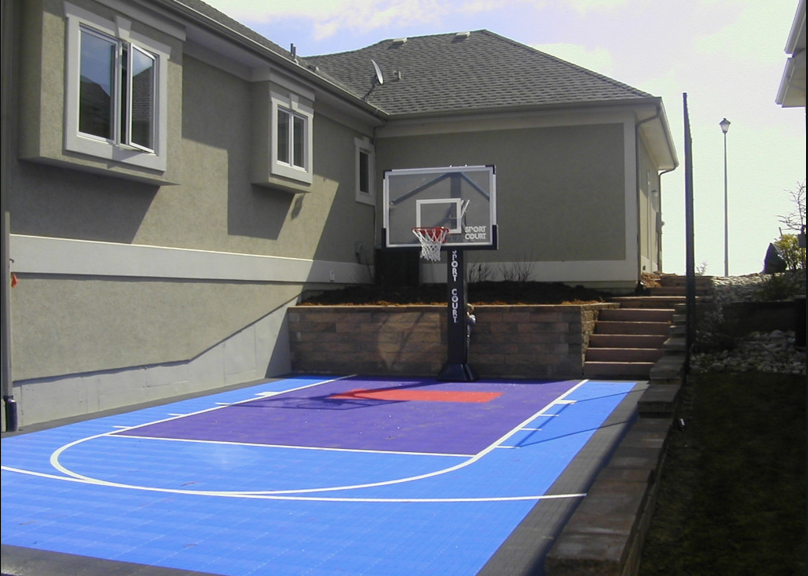 Superior Top Features Of A Home Basketball Court