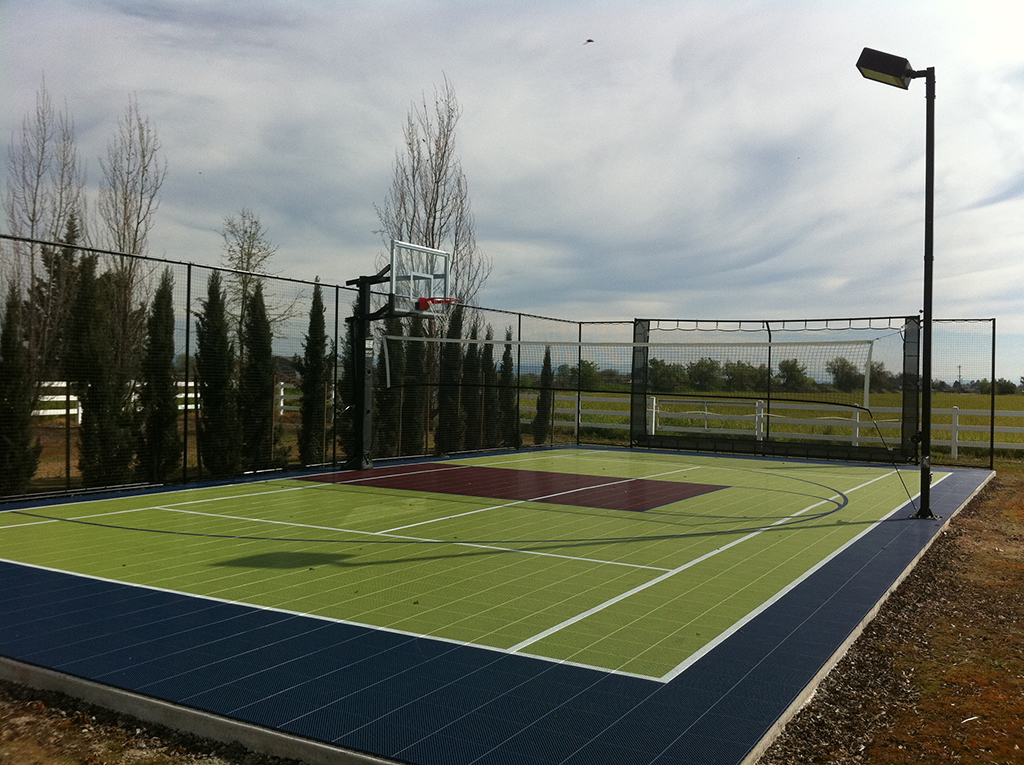 Sport Court 30 x 60 Backyard Court