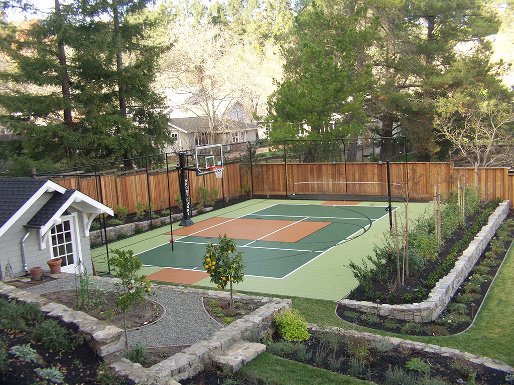 Sport Court Backyard Court