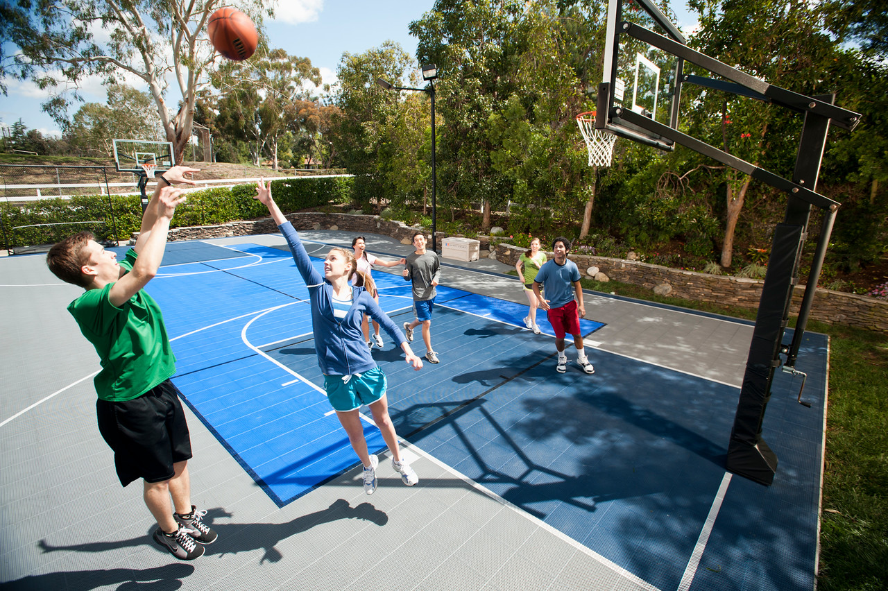 Sport court experienced courtbuilders sport court for Cost to build basketball court