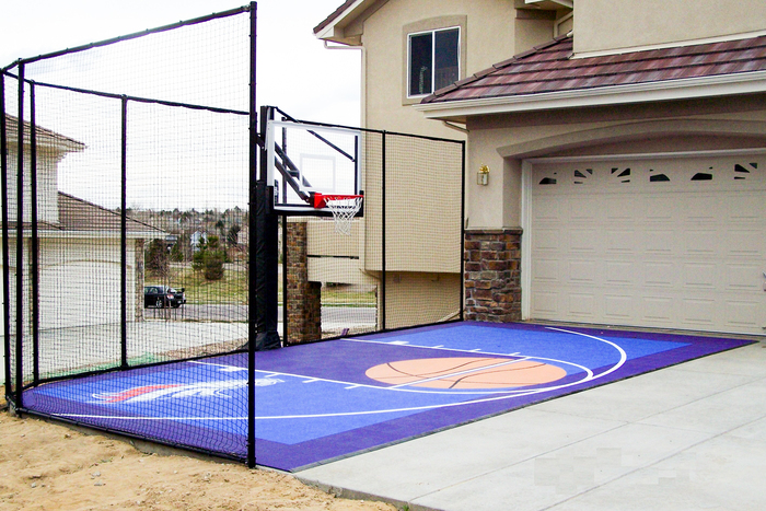 Courtbuilders™ work with the space you have to create a custom court just  for your family. Families don't come in one-size-fits-all dimensions — so  backyard ... - Fitting A Home Basketball Court In Your Backyard Sport Court