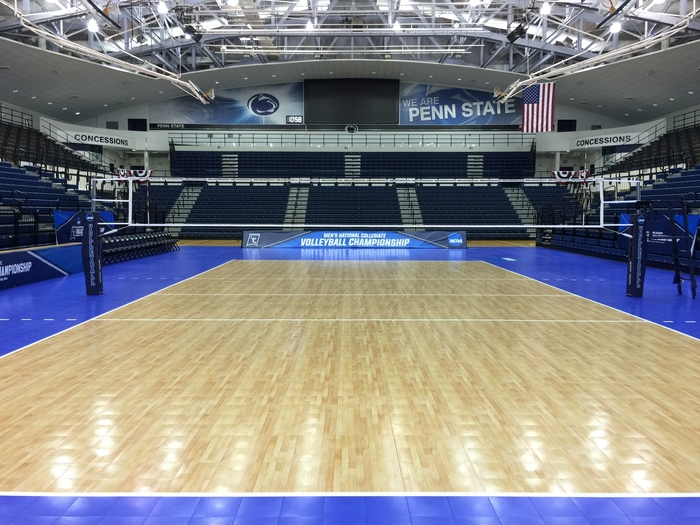 Sport Court Provides Flooring for NCAA Men's National Collegiate Volleyball Championship