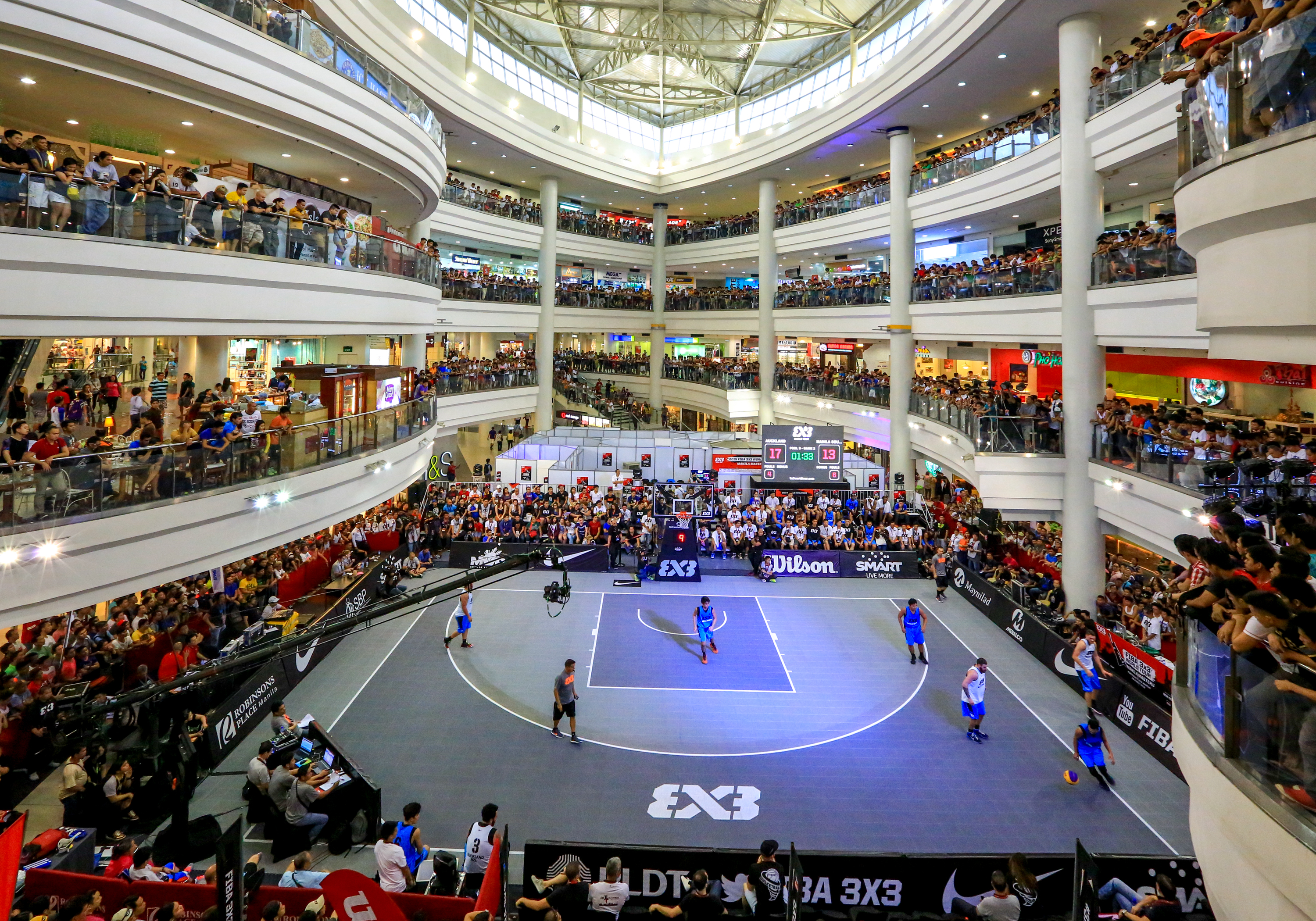 FIBA 3x3 World Tour in Manila