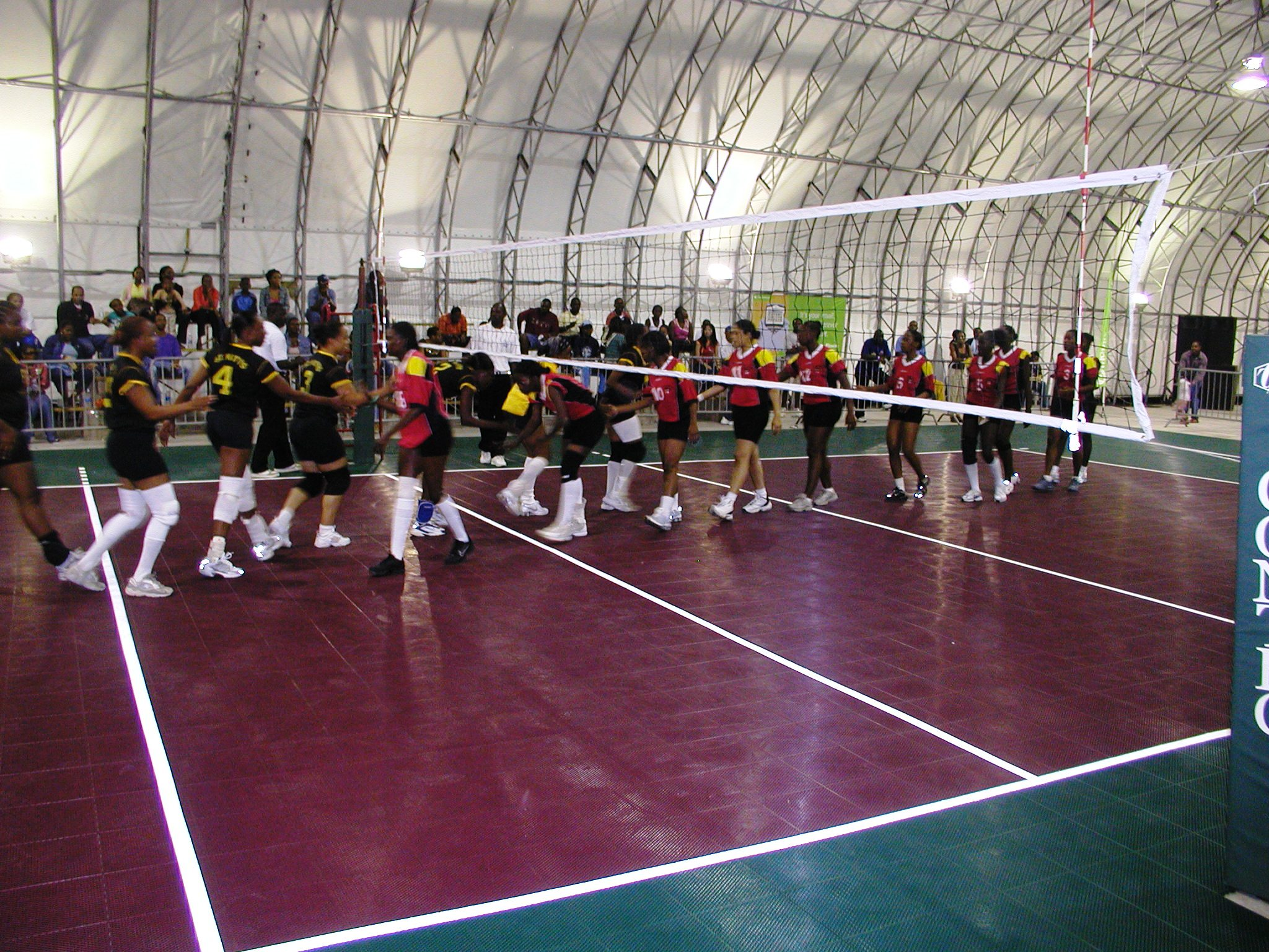 International Volleyball Court