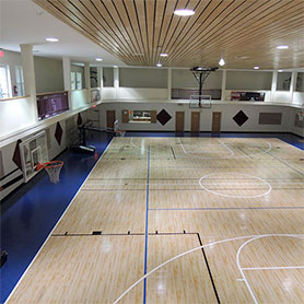 Gym Flooring with Maple Select
