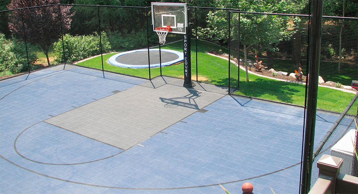 Home Basketball Court For Your Family U0026 Friends By Sport Court Connecticut