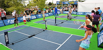 Tennis Court Surfaces by Sport Court Palm Beach, Florida