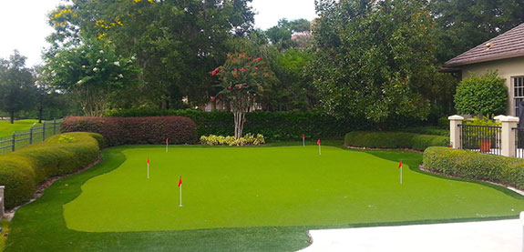Synthetic Grass Putting Greens