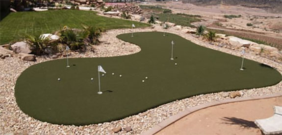 Sport Court Las Vegas Outdoor Putting Green