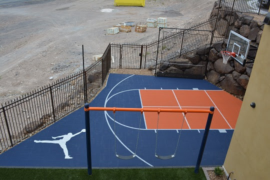 Basketball Court for a Broncos Fan??
