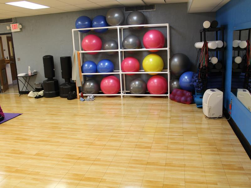 Fitness, Weight and Locker Room Flooring
