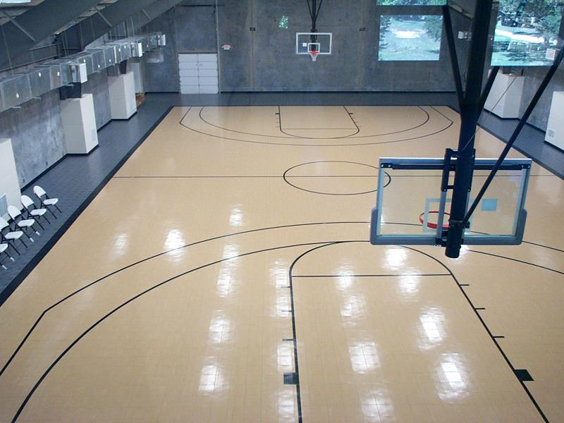 build a basketball court