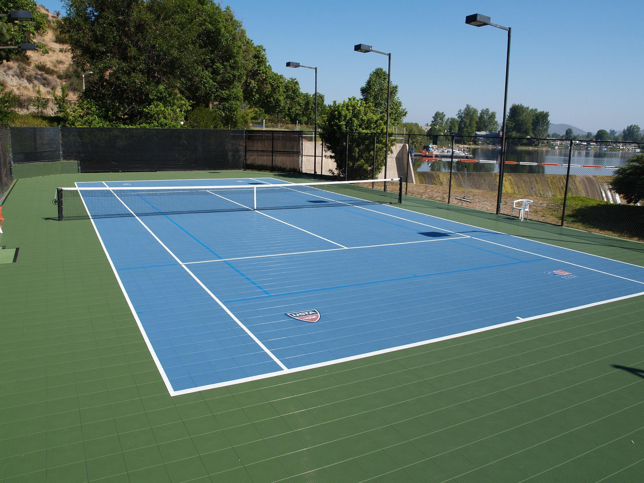 Build Tennis Court In Backyard Various